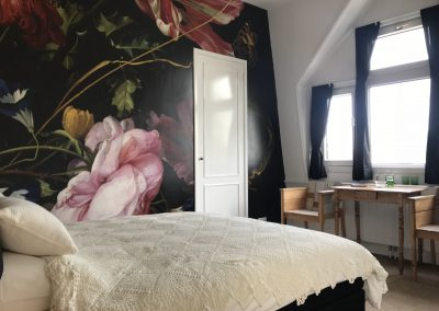 flora b&b kamer Den Haag city view